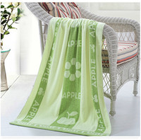 Summer hot selling cotton colorful absorbent soft safe city towel