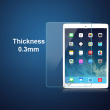 Wholesaler 0.3mm 9H Transparent clear nano Tempered Glass Screen Protector For iPad 2/3/4 air 2 Pro 9.7 Pro 10.5