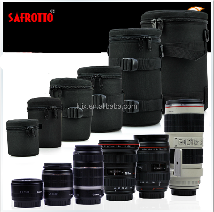 SAFROTTO E11 E-12 E-13 E-14 E-15 E-16 E-17 E-18 E19 Waterproof SLR Camera Lens Pouch Case