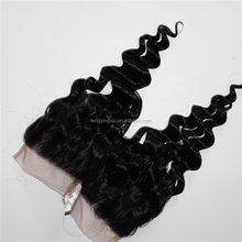 Human hair extensions 4*4 loose wavy wholesale virgin malaysian hair for woman
