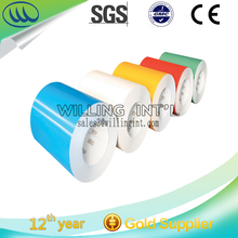 Prepainted GI steel coil/PPGI / PPGL color coated galvanized steel sheet in coil