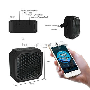 Octagon shape rechargeable wireless bluetooth microphone speaker oem Made in China