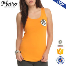 Stylish Dragon Ball Z Kame Symbol Girls 95% cotton 5% spandex tank top