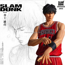 25cm Anime Comic Slam Dunk Slamdunk Rukawa Kaede Kanagawa Shohoku Basketball team Action Figure Doll Model Figurine boy gifts