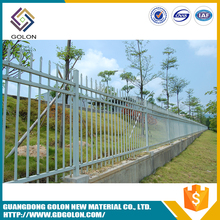 Hot sell 2016 new products gothic iron fence , garden fence and fence designs