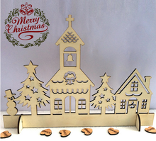 Wooden Table Stand Home Decoration Merry Christmas gift laser cutting machine manufacturer