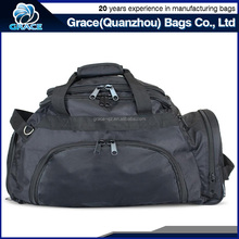 OEM classical model plain black backpack golf travel man bag with handle