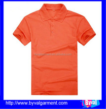 Wholesale men's blank leisure polo Shirt for man comfortable to wear Short Sleeve t shirt 100% Cotton no -pilling in summer