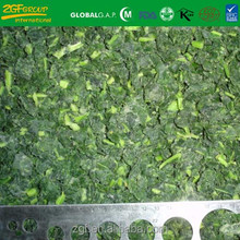 frozen high quality vegetable bulk organic spinach from China