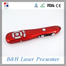 2.4G Multimedia laser pointer usb ir wireless presenter with laser pointer