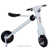 New designs CE FCC ROHS 350W 500w Scooters/pocket bikes/folding motorbike 35km/h, Front + Rear Disc Brakes, LED Lights,