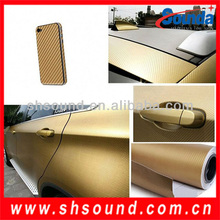 Interior Decoration Car Wrapping Vinyl-Cool Carbon Fiber with bubble free and high quality glue