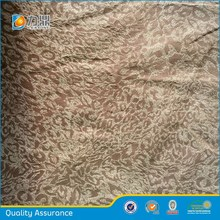 Adhesive phoenix tail pattern micro suede fabric for sofa,garment,apparel,bolster,coat,jacket