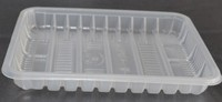 PP food plastic tray for fruits and vegetable