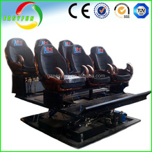 2016 amazing mould geme machine 7d cinema racing car seats for sell!