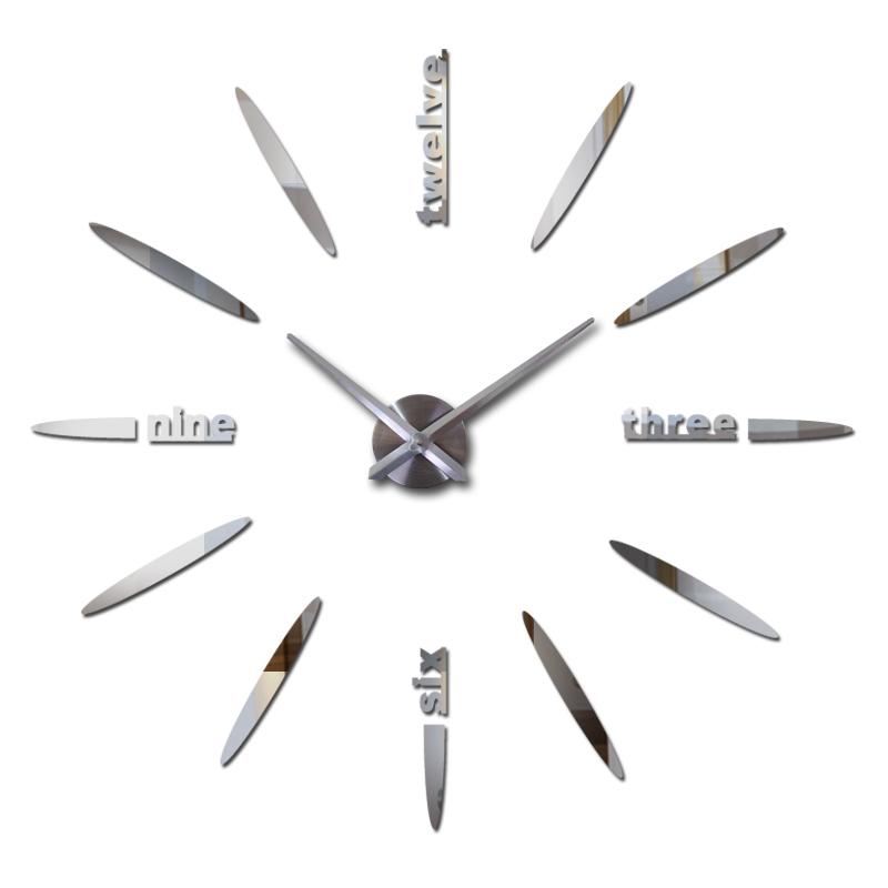 nuevos productos decoracin cuarzo moda reloj de pared moderno diy espejo stickes reloj grandes relojes decorativos