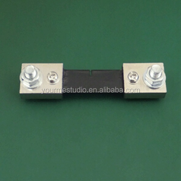 Manufacturer High Quality 100A 75mV DC Electric Ammeter Shunt