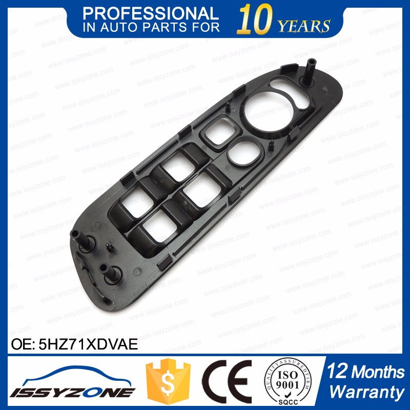 IWSCR021 Slate Gray Window Switch Panel For Dodge Ram 1500 2500 3500 2002-2005 5HZ71XDVAE 5HZ71XDVAD