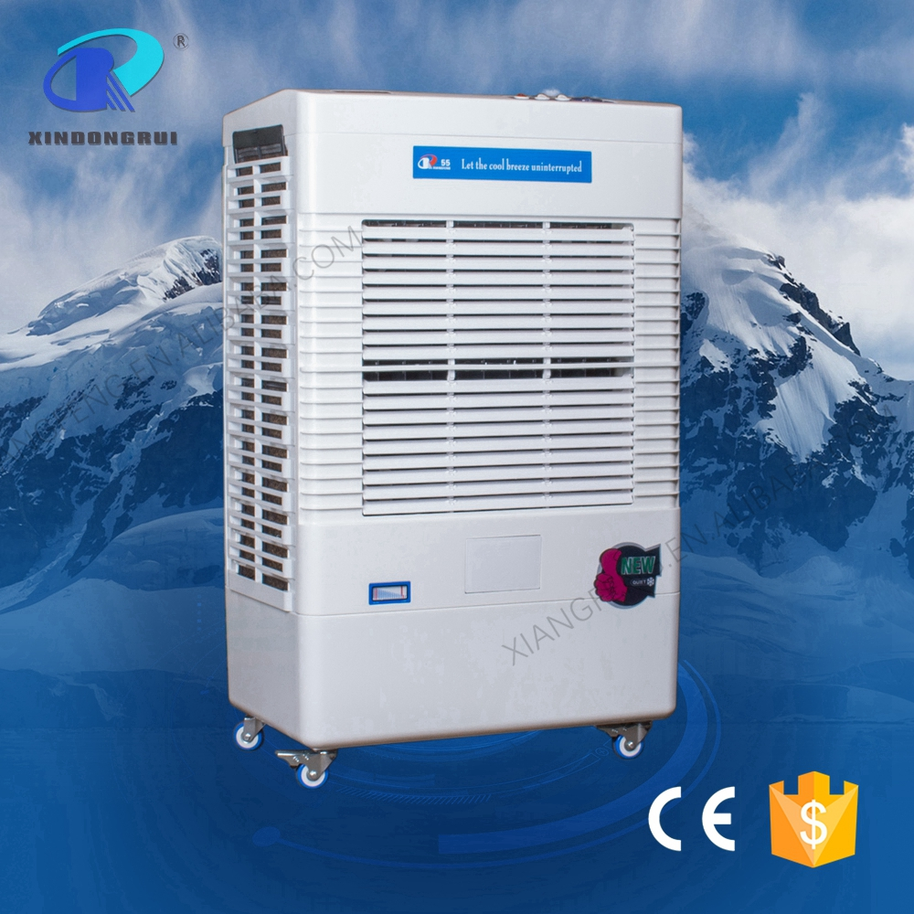 Ice evaporative water pump and heater air cooler