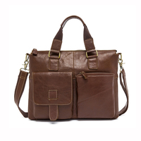 Men Leather Bag Crazy Horse Leather