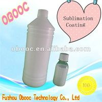 New Design dye sublimation coating/Cotton spray for cotton clothing of light color