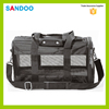 2016 china quanzhou SANDOO simple black Medium-sized small animal pet bag carrier