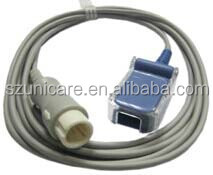 masimo spo2 sensor adapter cable of Mindray monitor with OEM P/N : 0010-30-42738, Spo2 adapter cable for mindray T5/T8