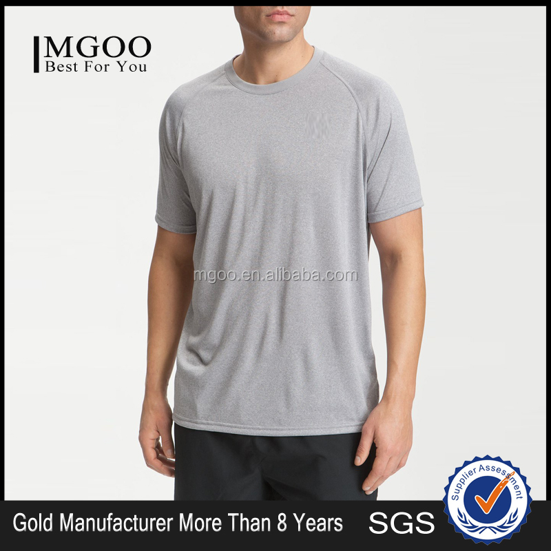 OEM GYM Wear Sport T Shirt New Design UA Tech Dri Fit T Shirt Custom Your Brands Men T Shirt With Raglan