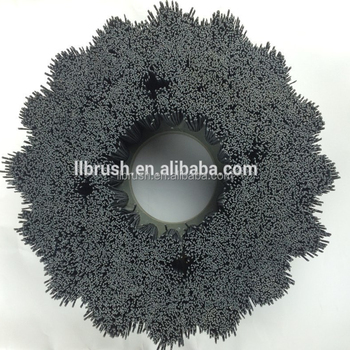 abrasive filament car wheel hub brush