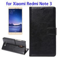 New Arrival Flip Leather Case for Xiaomi Redmi Note 3 Case with Wallet & Photo Frame