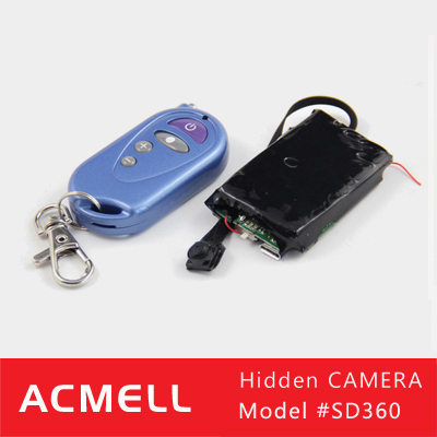SD360 Full HD 1080P Hidden Camera Long Time Recording Mini Spy Camera Module With Remote Controller
