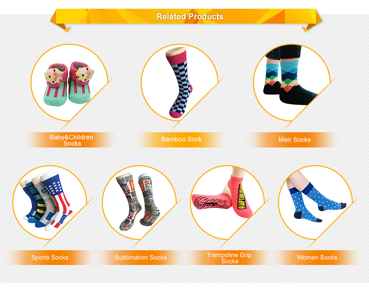GSM-09 Alibaba hot sale striped design bamboo happy business socks for men