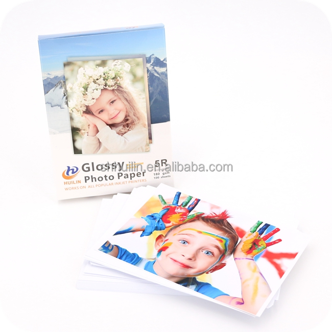 90g 115g 135g Glossy Photo Paper A4 Thin Inkjet Waterproof Glossy Photo Paper