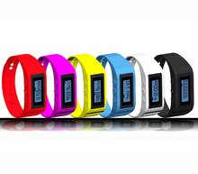 Fashion Calories burned Sport Wristband 3D Pedometer