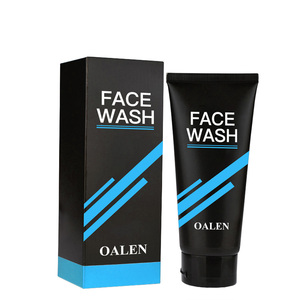 Private Label Organic Men Face Care Products Blackhead Remove And Deep Cleansing Face Cleanser