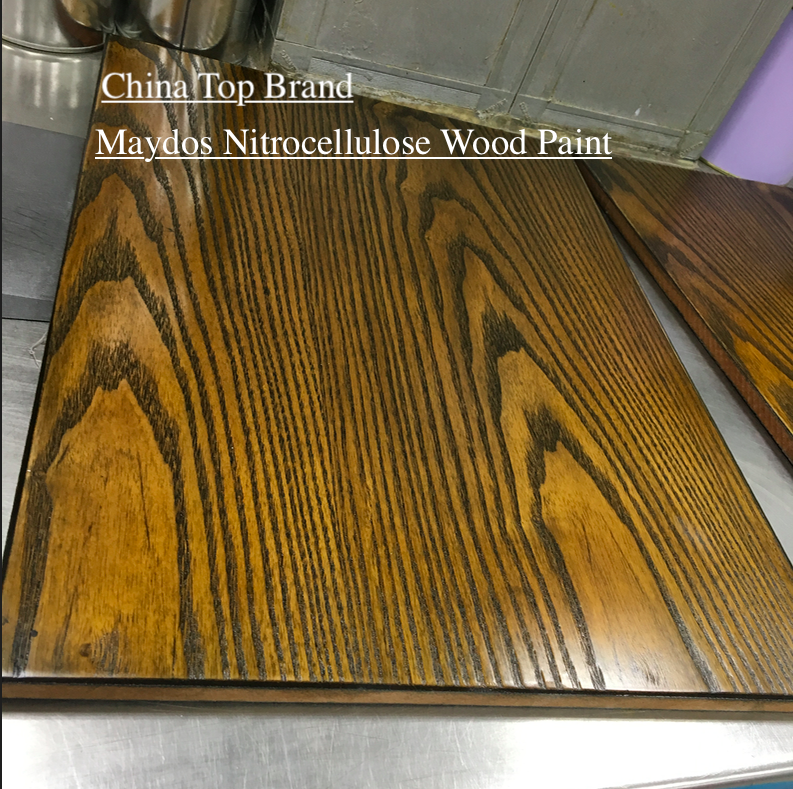 Food Grade Nitrocellulose Base NC Wood Paint Lacquer for Furniture