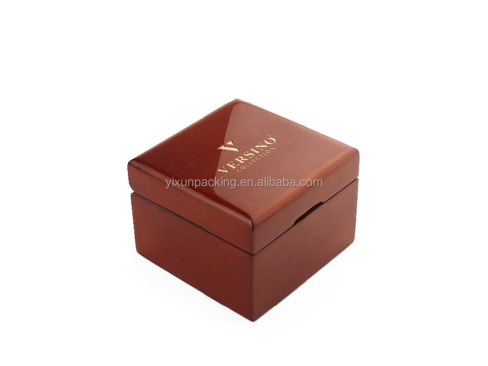 Strong personalized luxury wooden watch box For Watch