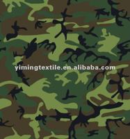 210D oxford camouflage printed, ripstop camouflage taffeta