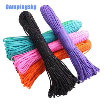 GEGEDA Rainbow thread Paracord 550 Parachute Cord