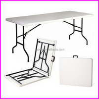 New 6 Ft Plastic Outdoor Garden Foldable Table