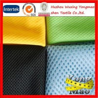 100% polyester breathable tricot mesh lining fabric