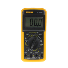 Digital Multimeter Digital Excel DT9205A Yellow Black Large Voltmeter Ammeter Ohm Test Meter