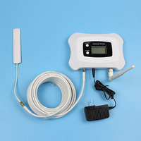 new generation global frequency 2100mhz phone signal booster repeater with LCD