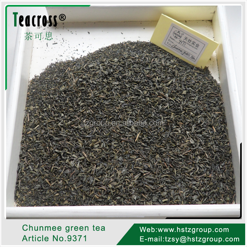 Green tea for Mauritania market, Chunmee special, Grade 1 (Article No. 9371)