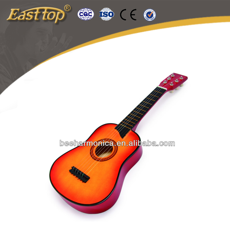 2017 fashion acoustic wooden guitar with cheap price