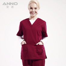 Anno unisex medical clothing colourful medical scrubs