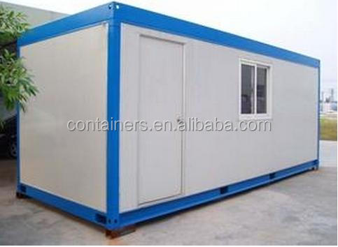 Good insulated demountable prefab house container flat pack container