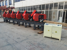 6 Heads Band Saw 5 Heads Horizontal Bandsaw 2 Heads Wood Cutting Band Saw Machine