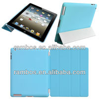 Ultra Thin Magnetic Cover Leather PU Smart Cover Case for iPad Air