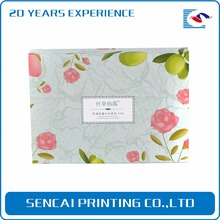 Sencai Customized Hand and foot cream bottle drawer paper box